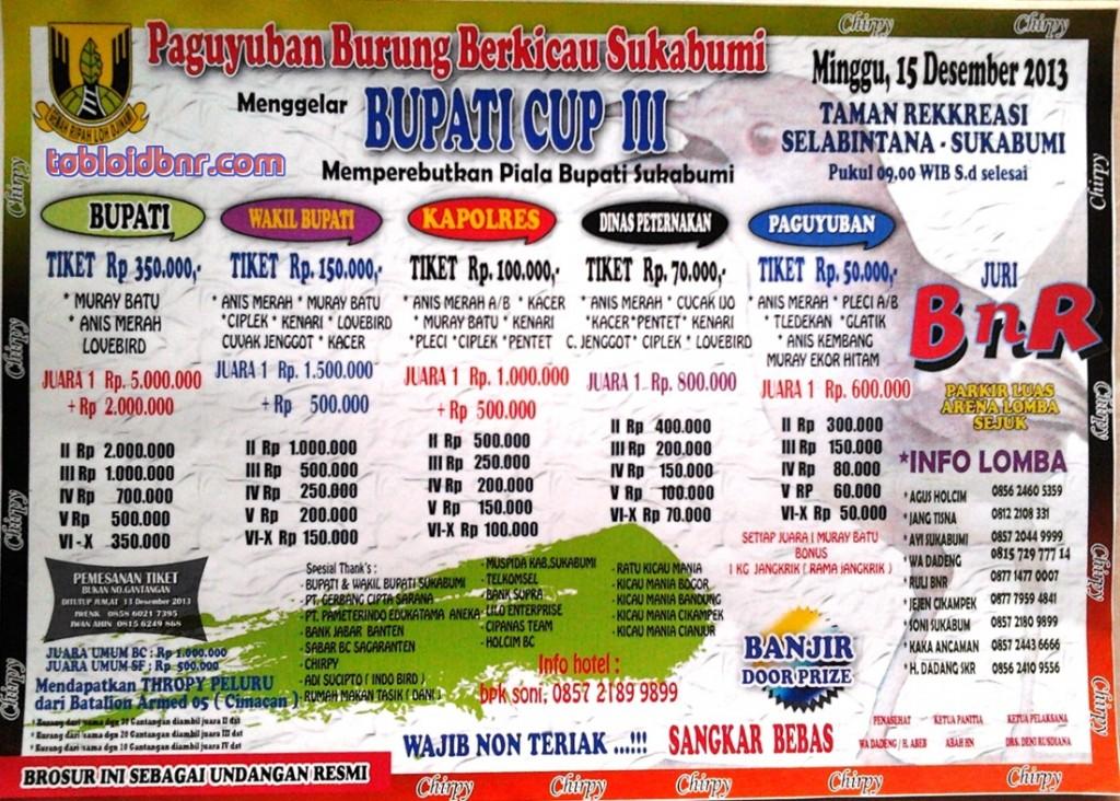 Bupati Cup Piala Bupati Sukabumi