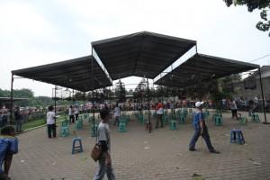 Suasana Lomba Tempo Dulu (foto Ikrom)