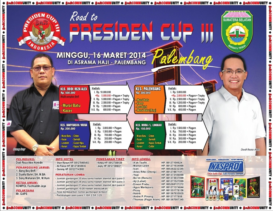 road to presiden cup 3